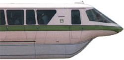 One of the Original Mark IV Monorails